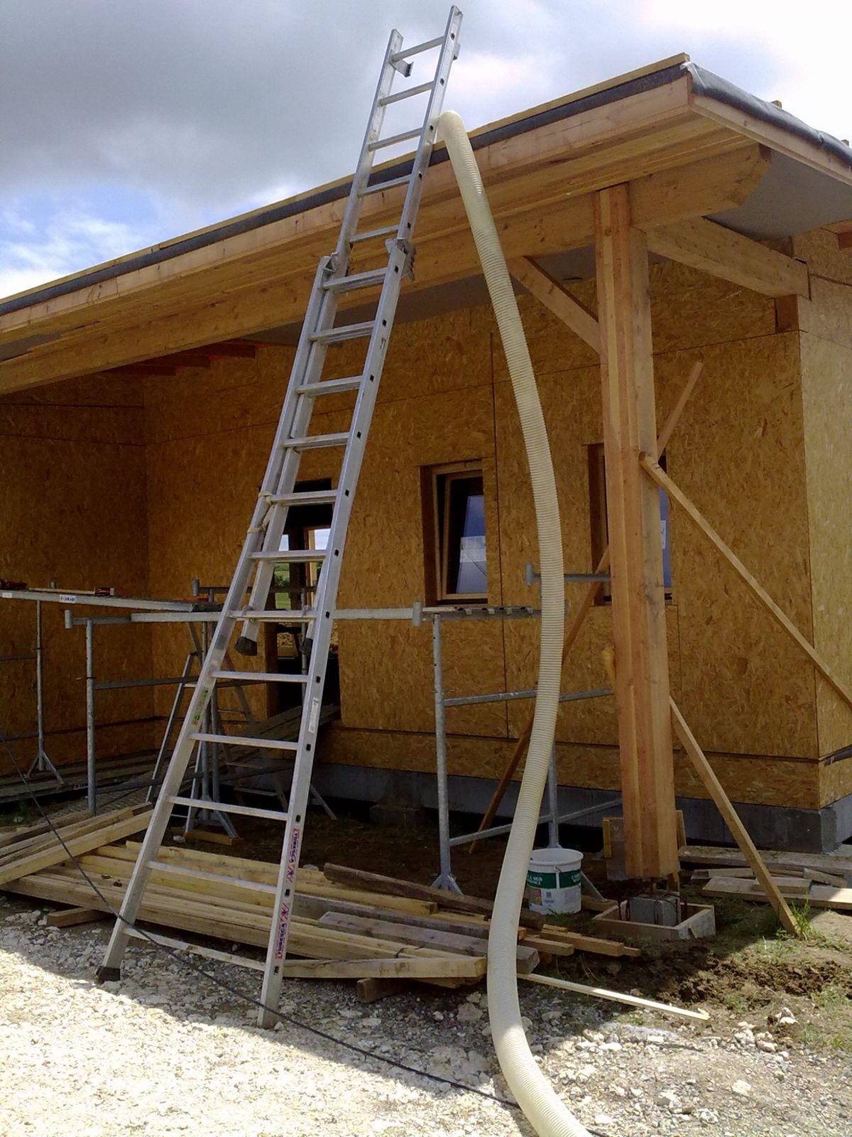 Isolation toiture et hors d 39 eau le blog de mob32 - Laine de verre haute densite ...