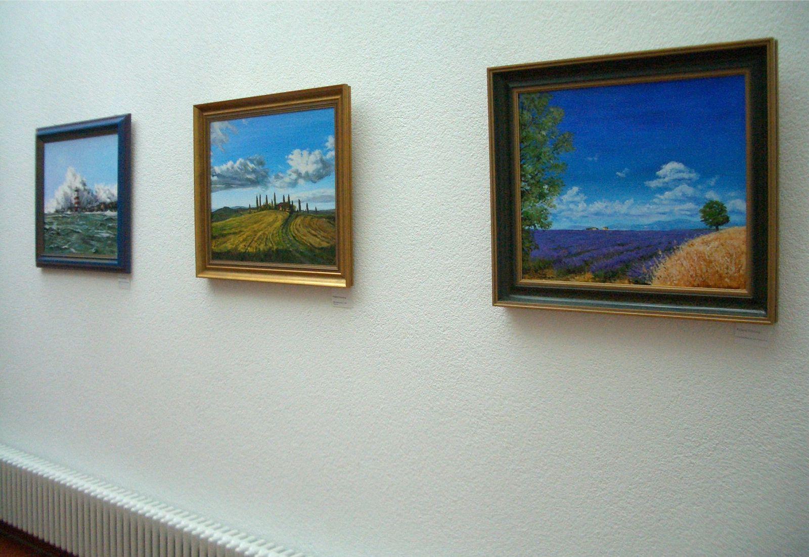 Ausstellung von Form und Farbe Crailsheim e.V. 2013 im Bürgerhaus von Rot am See.