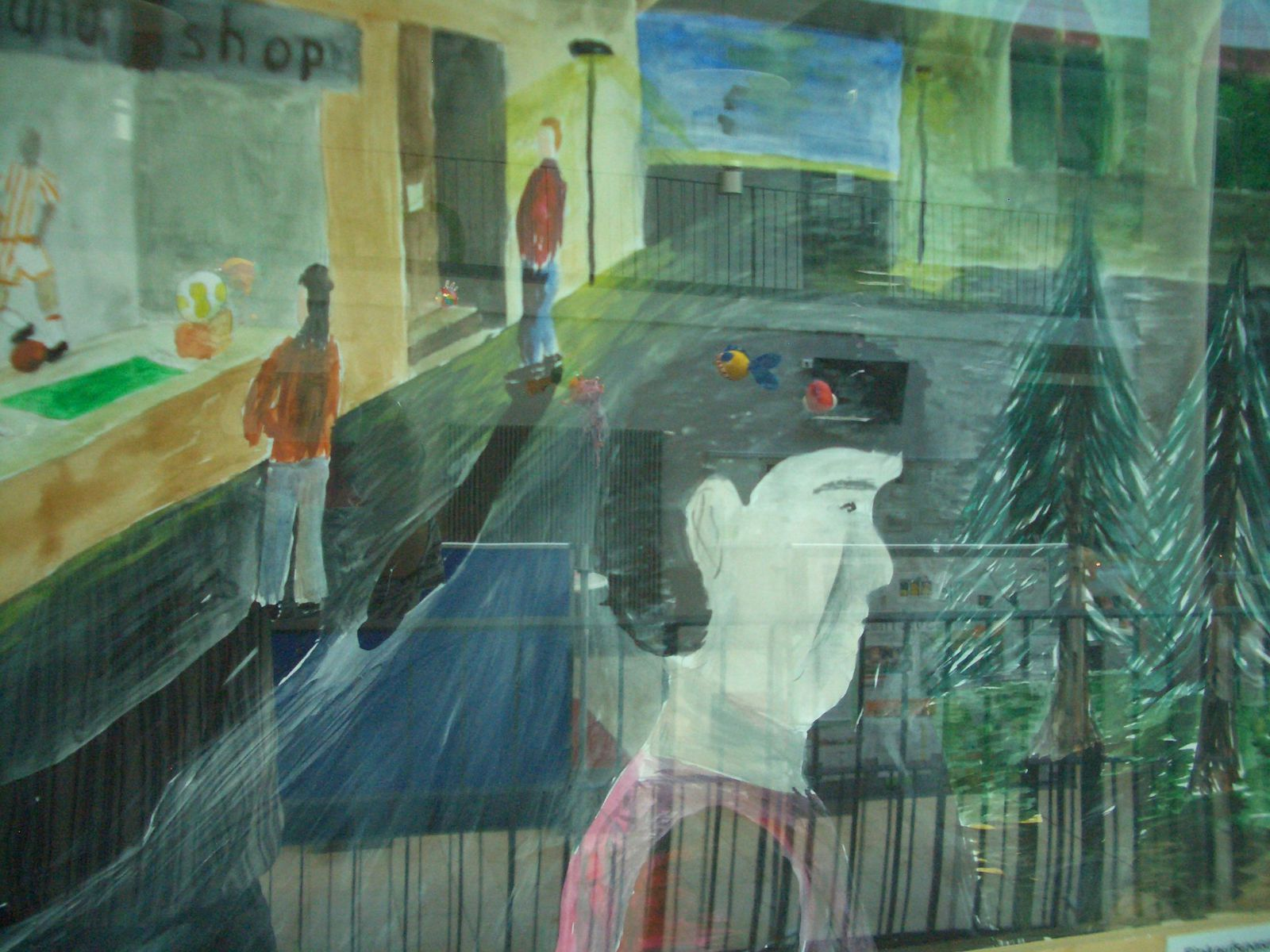 Ein überzeugend durchdachtes didaktisches Konzept stellte Kunsterzieher René Schubert bei der 1. Vernissage für Schulkunst am Lise-Meitner-Gymnasium Crailsheim vor.