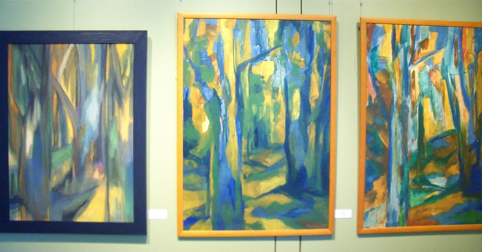 Sibylle Mertsch: Bilderauswahl von ihrer Ausstellung im Rathaus Wildenstein vom 22.05. bis 24.07.2011