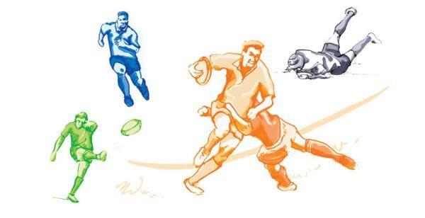 illustration rugby