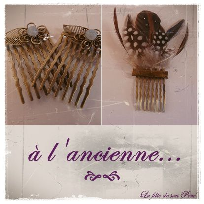 broche cheveux web