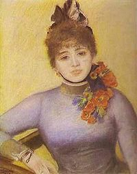 Séverine illustration 2 par renoir