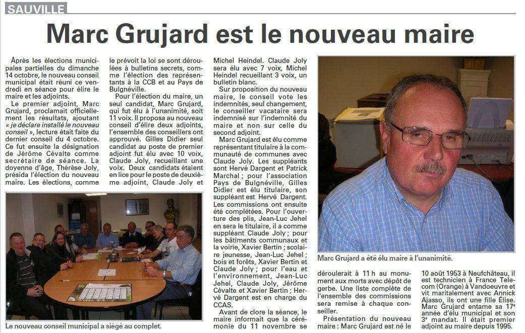 sauville maire grujard oct 2012