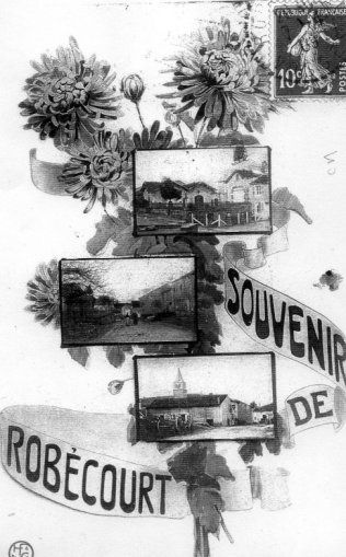 Collection de cartes postales anciennes sur Robécourt