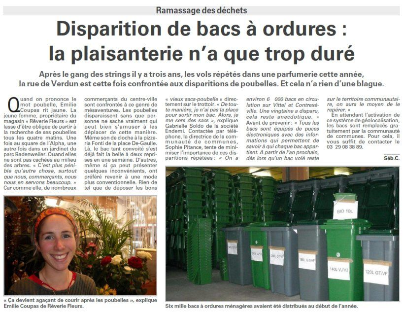 disparition bac ordure vittel