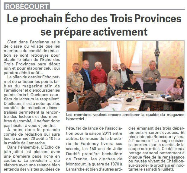 robecourt 3 provinces juin 2011