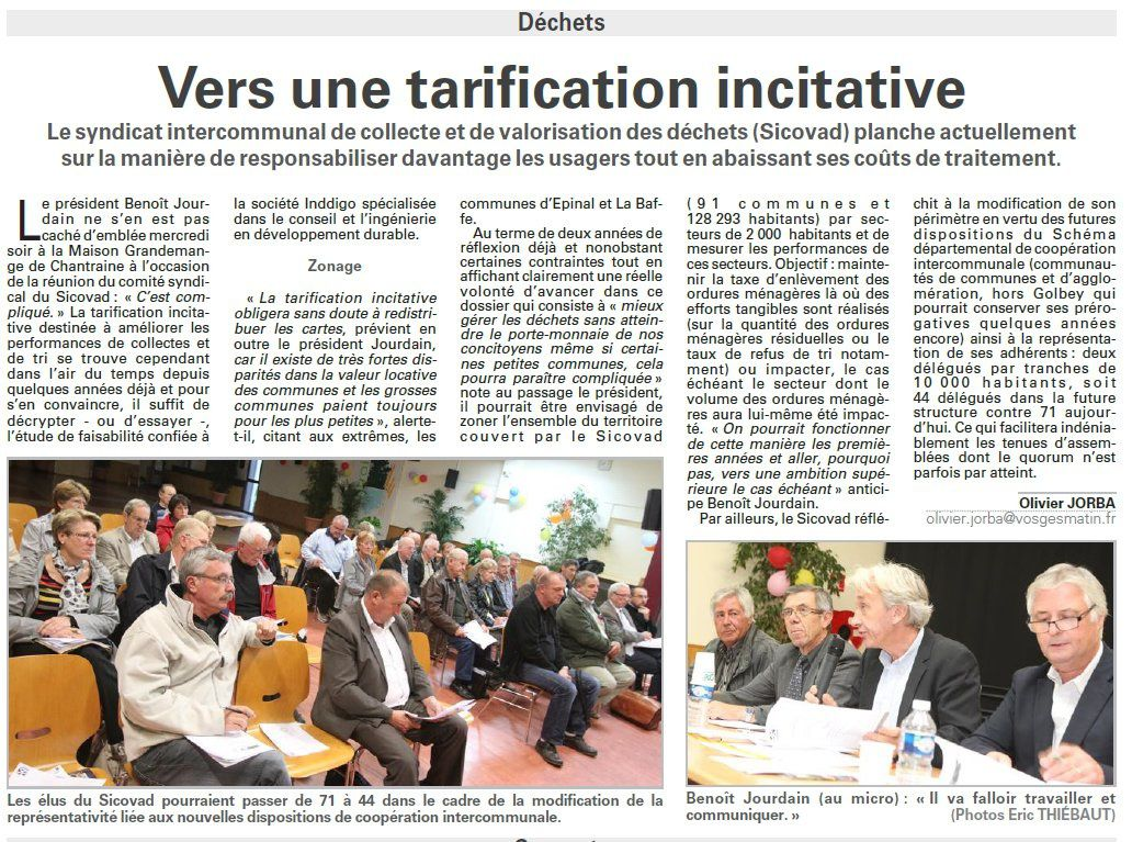 sicovad tarification incitative