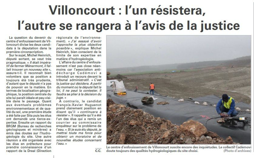 villoncourt legislatives