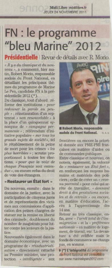 article Midi Libre carcassonne