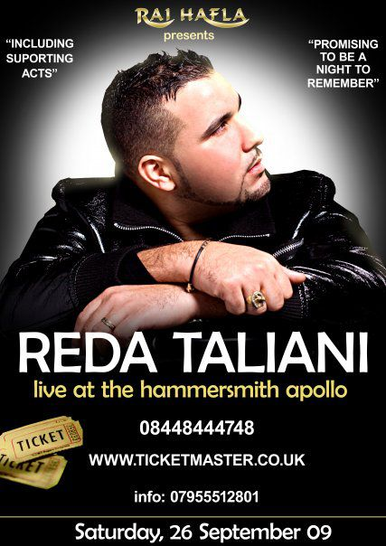 Reda Taliani Live in London le 26 septembre 2009