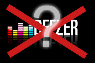 Deezer's music services are not yet available in your country