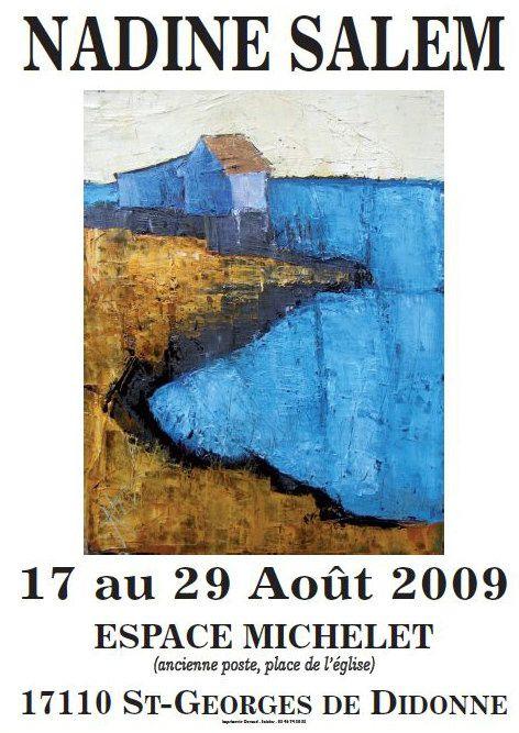 Expositions peinture le blog de bernard maingot - Office du tourisme st georges de didonne ...