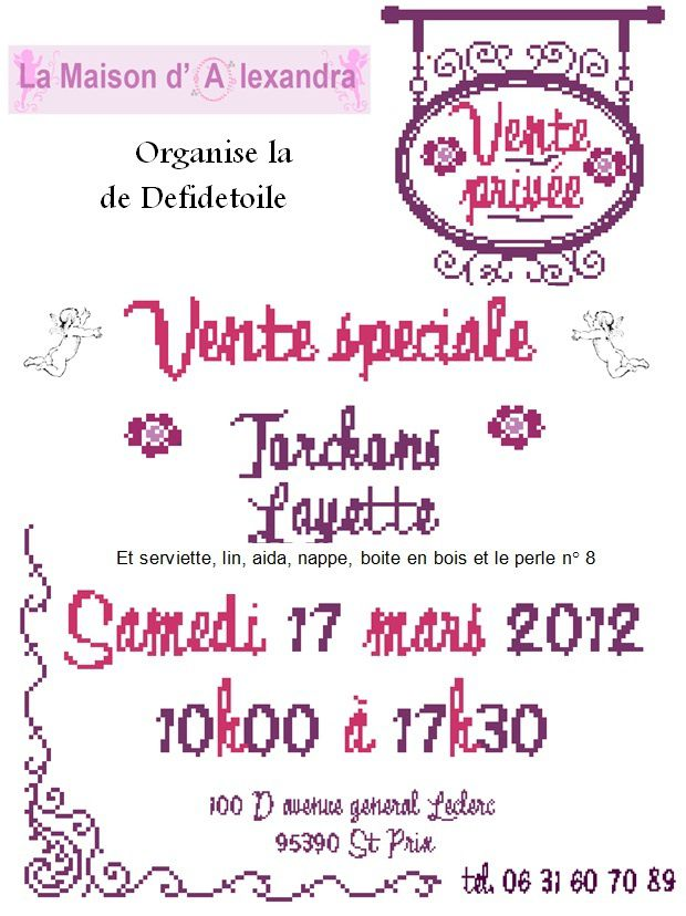 vente priv e du 17 mars 2012 invitation t l charger. Black Bedroom Furniture Sets. Home Design Ideas