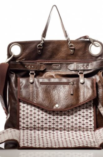 magic strolen bag cuir marron