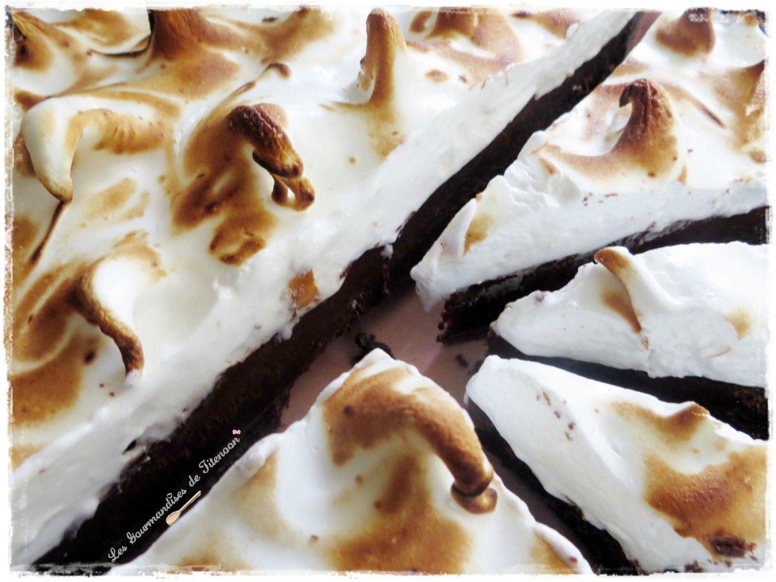 recette tarte au chocolat meringu e. Black Bedroom Furniture Sets. Home Design Ideas