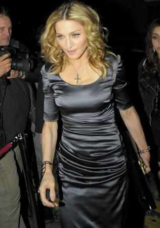 Madonna throws funereal birthday party