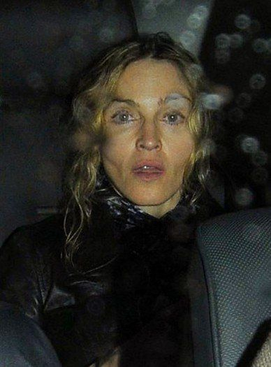 Madonna leaving the set of ''W.E.'' in London - August 26, 2010