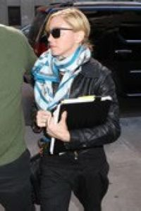 Madonna on the set of ''W.E.'' in NY - September 11, 2010