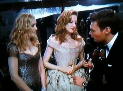 Madonna at 2012 Golden Globe Awards: Red Carpet Interviews