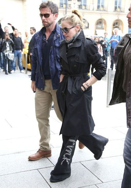 Madonna takes David to see ''We Are Revolution'' musical at Olympia in Paris - July 13, 2012