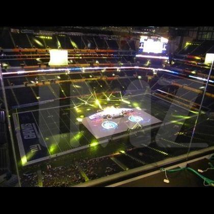 Madonna's Halftime Show Super Bowl Stage