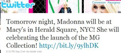 Madonna's Material Girl Dance Party at Macy's