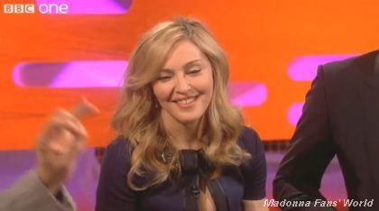 Videos: Madonna on ''The Graham Norton Show'' on January 13, 2012
