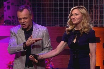 4.2 million people watched Madonna on 'The Graham Norton Show'