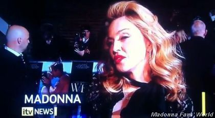 Madonna at UK premiere of ''W.E.'': Interview - January 11, 2012