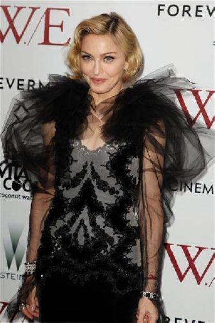 Madonna at NY premiere of ''W.E.'': More Photos