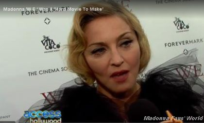 Access Hollywood video: Madonna on Super Bowl and the rehearsals