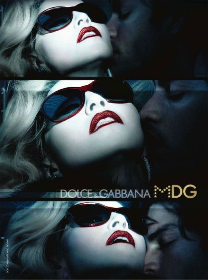 Madonna's MDG ad in ''Style'' magazine