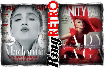 Vanity Fair Italy: Madonna or Lady Gaga?