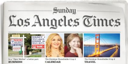 Interview with Madonna in Los Angeles Times newspaper - January 29, 2012