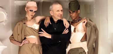 Jean-Paul Gaultier on his first meeting with Madonna: ''I was a fan''