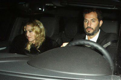 Madonna at Bryan Lourd pre-Oscar party in Los Angeles on March 6, 2010
