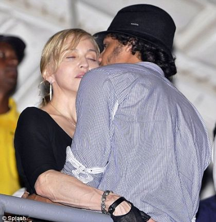 Madonna and Jesus Luz put on public display of affection in sweaty Rio nightclub