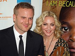 Nathan Rissman and Madonna for ''I Am Because We Are''