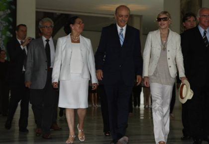 Sao Paulo Governo José Serra on his meeting with Madonna