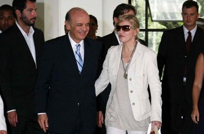 Madonna Impresses Possible Candidate For Brazil's Presidency