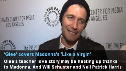 Matthew Morrison covers 'Like A Virgin' in the Madonna episode of 'Glee'