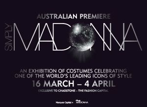 3 Decades Of An Icon – 'Simply Madonna' at Chadstone, Australia