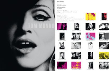 Tom Munro's celebrity pictures exhibition until March 13, 2010 in LA