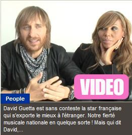 David Guetta: ''Madonna is lovely, very simple, very nice''