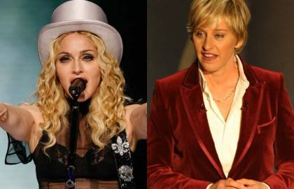 Madonna and Ellen DeGeneres are distant cousins with Canadian roots