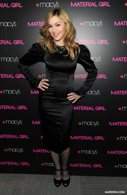 'Material Girl' line: interview with Madonna in next ''Us Magazine''