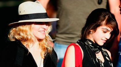 Madonna disapproves of Lourdes' style
