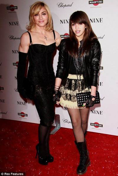 Madonna wishes teen daughter Lourdes would 'dress more conservatively'