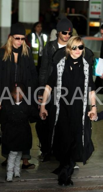 Madonna Back In London Before African Adventure